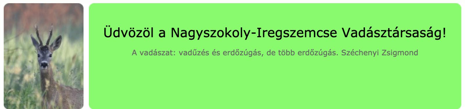 Nagyszokoly-Iregszemcse Hunting Co. - Hungary, Somogy county